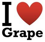 I Love Grape Light