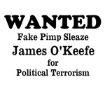 Wanted Political Terrorist Sleaze O'Keefe