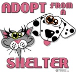 ADOPT FROM A SHELTER