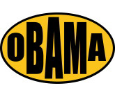 Gold Oval Obama Store