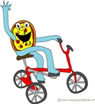 Pizza Pie Tricycle
