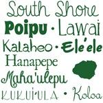 South Shore Kauai Subway Art