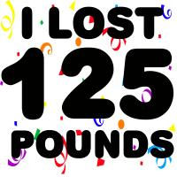 I Lost 125 Pounds!