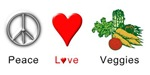 Peace Love Veggies