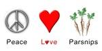 Peace Love Parsnips