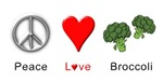 Peace Love Broccoli