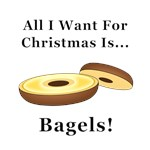 Christmas Bagels
