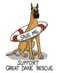 Support Great Dane Rescue (Fawn)