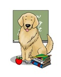 Teacher Golden Retriever (light)