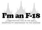 I'm an F-18