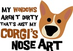 Corgi Nose Art