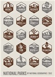 National Parks - Brown & Gray