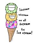 Triple Cone Ice Cream