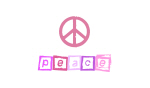 Pink Peace Sign