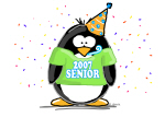 Senior 2007 Party Penguin