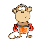 Boxing Monkey