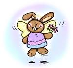 Easter Angel Bunny