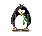 Green Ribbon Penguin