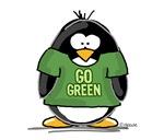 Go Green Penguin