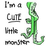 Cute little monster Cthulhu