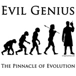 Pinnacle of evolution evil genius