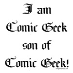 Son of comic geek