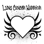Lung Cancer Warrior Tattoo Shirts & Gifts