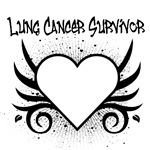 Lung Cancer Survivor Tattoo Shirts & Gifts