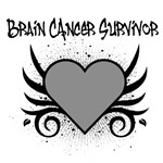 Brain Cancer Survivor Tattoo Shirts & Gifts