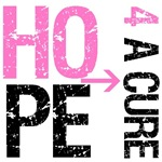 Hope 4 a Cure Breast Cancer T-Shirts & Gifts
