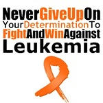 Leukemia Never Give Up Shirts & Gifts