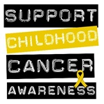 Support Childhood Cancer Awareness T-Shirts