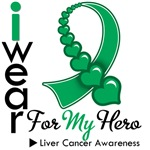 Liver Cancer Hero Ribbon Shirts & Gifts