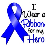 I Wear a Ribbon Colon Cancer Hero