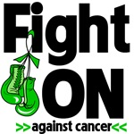 Fight On Against Kidney Cancer Shirts  (Green)