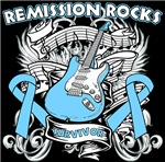 Remission Rocks Prostate Cancer Shirts