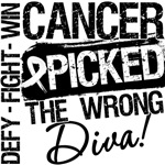 Bone Cancer Picked The Wrong Diva Shirts