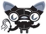 Bondo Kitty Cartoon Character