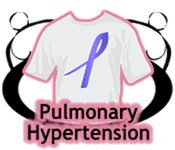 Pulmonary Hypertension Shirts and Gifts