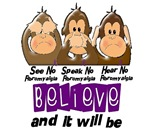 See Speak Hear No Fibromyalgia Shirts Gifts