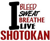 Bleed Sweat Breathe Shotokan