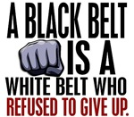 Refused To Give Up Black Belt Shirts Gifts Apparel