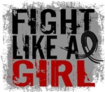 Fight Like a Girl 31.8 Melanoma Shirts