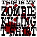 My Zombie Killing Shirt