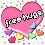 Candy Hearts Free Hugs