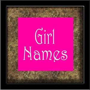 Girl Names