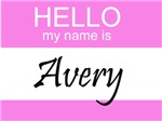Hello My Name Is Avery