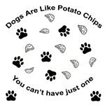 Scrambled - Dogs are like potato chips...