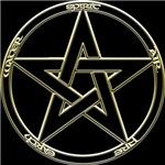 Earth, Air & Fire Pentagram
