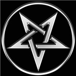 Inverted Silver Pentacle
